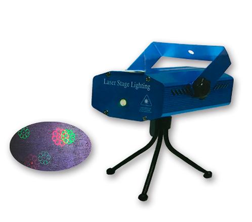 Laser Audio ritmica figuras navideñas