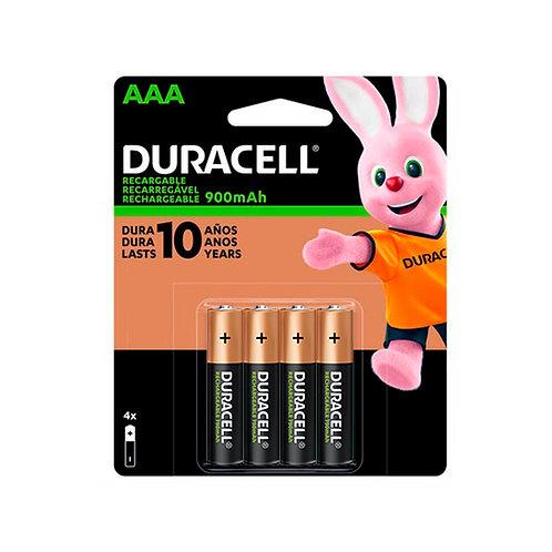 Pilas Duracell Recargables AAA 900mAh
