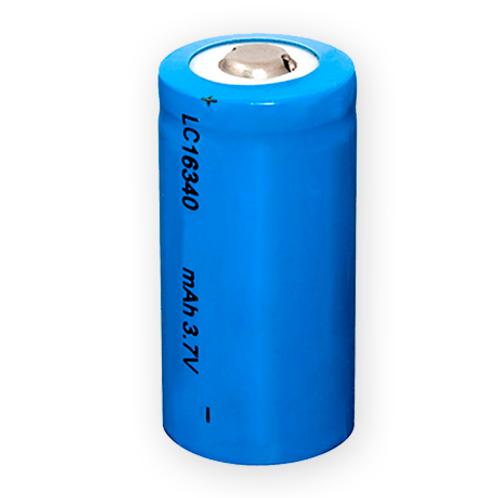 Baterías Recargables Litio 16340 (CR123) 1200mAh