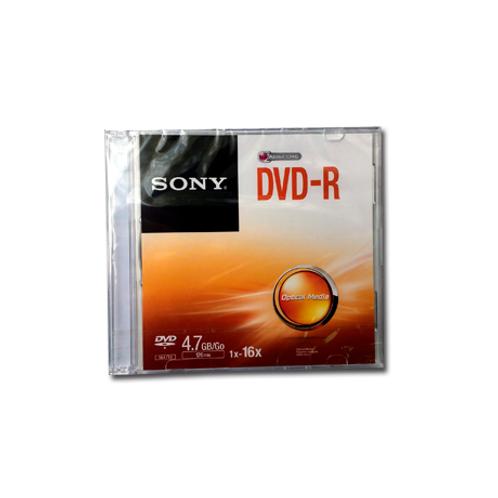 DVD Sony 4,7 Gb 16X con caja