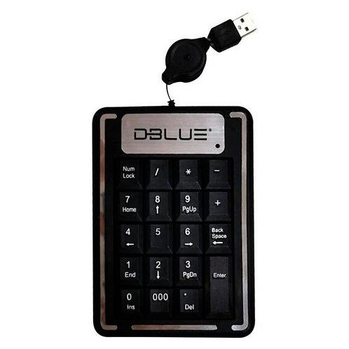 Teclado Numerico Usb Dblue Negro