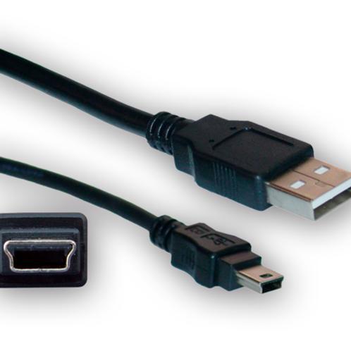 """Cable USB """"5 Pines"""" unidad formato a granel"""
