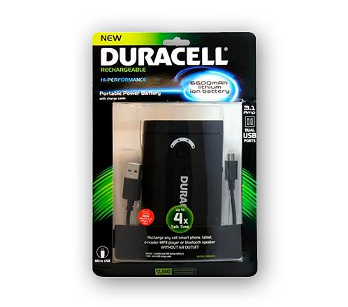 Powerbank Duracell 6600 mAh