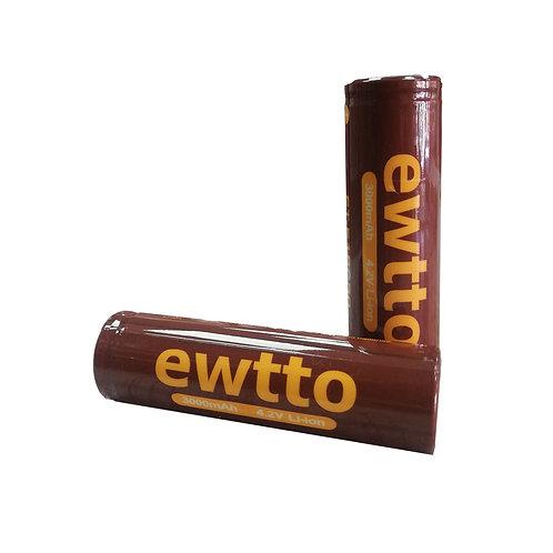 Baterías recargable Litio 18650 Plana x2