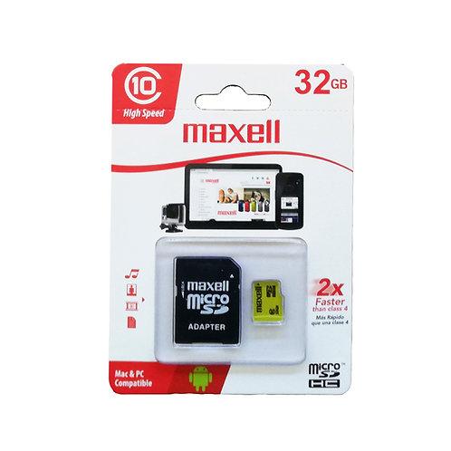 Micro Sd 32 GB clase 10