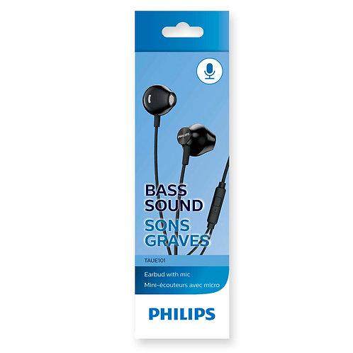 Audífonos con micrófono TAUE101WT/00 Philips