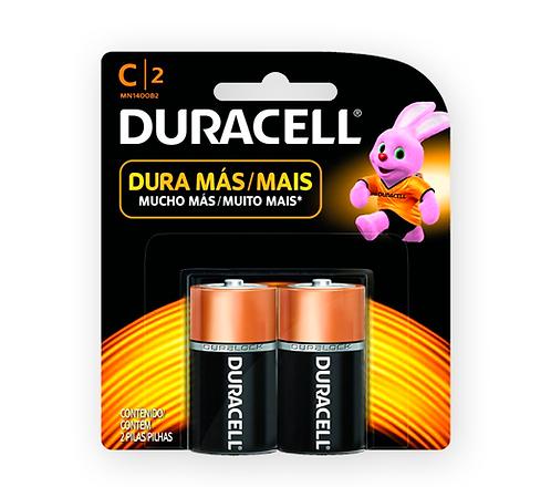 "Pila Duracell Alcalina ""C"""