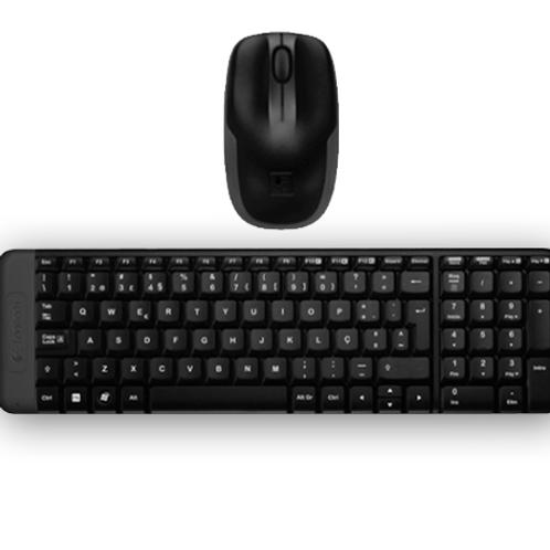 Kit Teclado + Mouse Inalámbrico Logitech K235