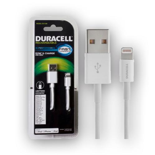 Cable de sincronización Ligthning IPHONE Duracell