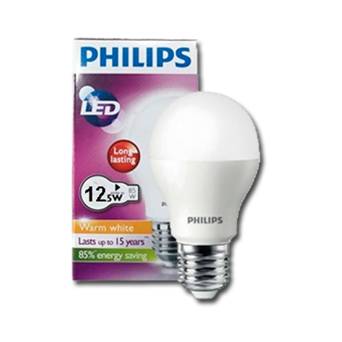 Ampolleta Philips 12W Blanca