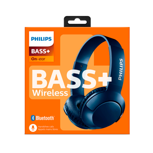 Audífono Bluetooth PhilipsSHB3075 Bass+
