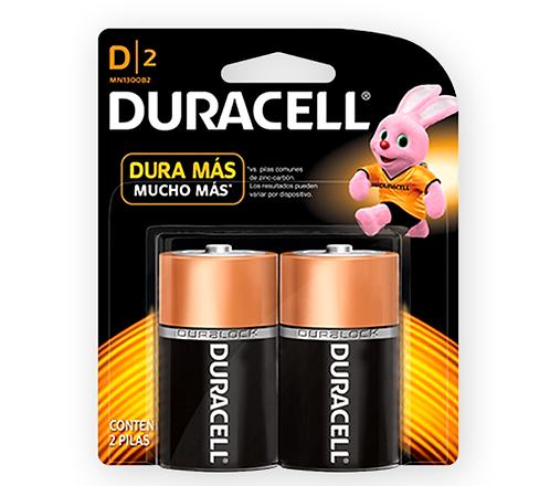 "Pila Duracell Alcalina ""D"""