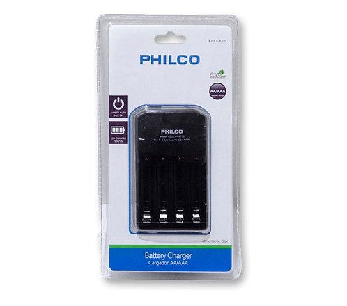 Cargador Philco 1-4/Pilas AA-AAA