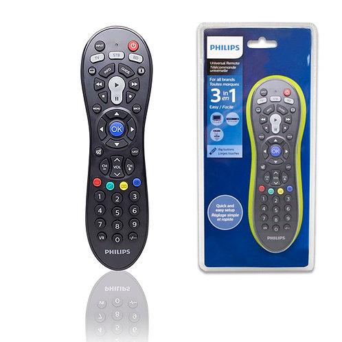 Control Remoto Universal Philips 3 En 1 Srp3013