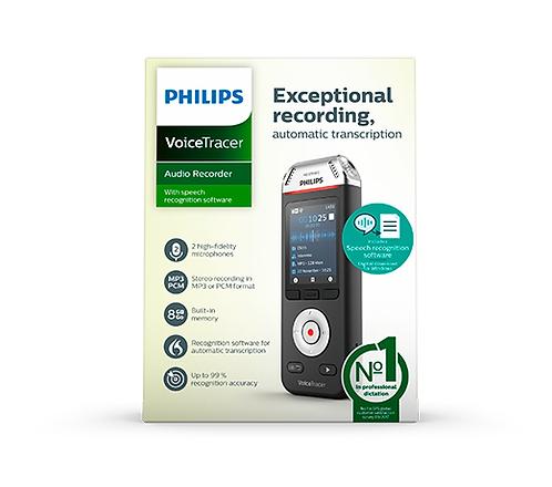 Grabadora Digital Philps Voice Tracer DVT2810