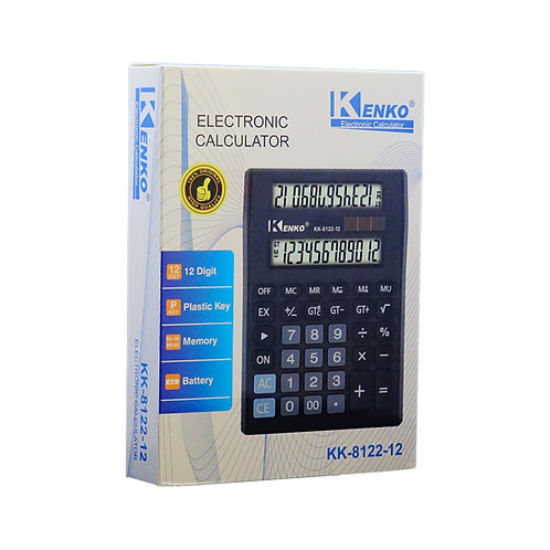 Calculadora Kenko KK-8122 12 dígitos