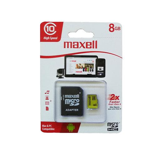 Micro Sd 8 GB clase 10