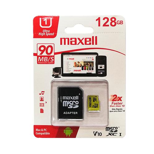 Memoria Micro SDXC 128GB Maxell Clase 10