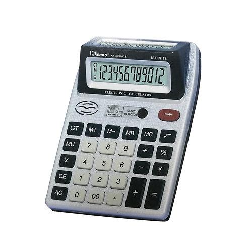 Calculadora Kenko Doble visor 12 dígitos Grande