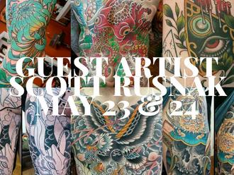 Guest Artist Announcement: Scott Rusnak