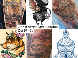 Guest Artist: Guy-Antoine