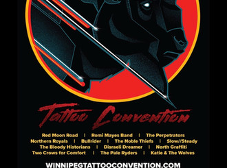 Shop Closure for Winnipeg Tattoo Convention