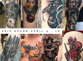 April Guest Spot: Kris Hearn