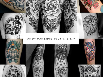 GUEST ARTIST: Andy Paneque