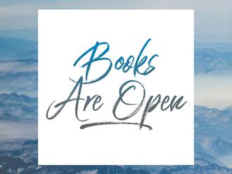 Mr. HALTER: Books are OPEN