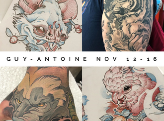 November Guest Artist Announcement!