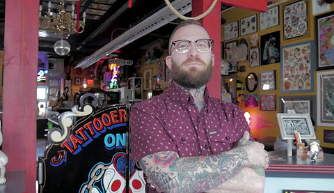 Ryan Halter - Owner and Tattoo Artist
