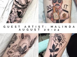 August Guest Artists