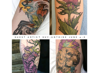 Check out our June Guest Artists