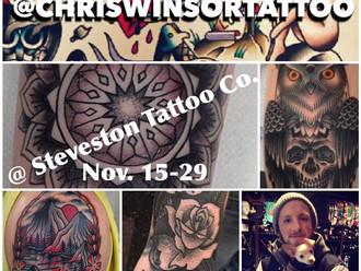 Chris Winsor Guest Spot