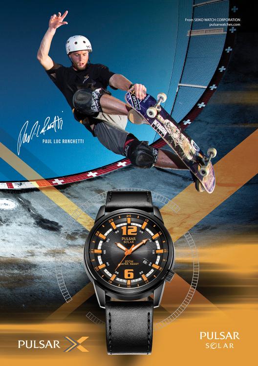 Paul-luc Ronchetti - Pulsar Watches
