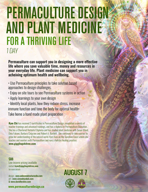 Permaculture & Plant Medicine for a  Thriving Life