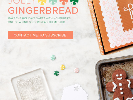 Paper Pumpkin November - Jolly Gingerbread