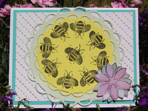 Happy Birthday! Honey Bee Dance