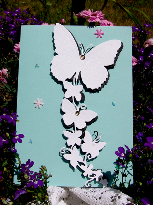 Butterfly Flurry Thank You