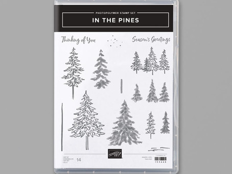 Pine Trees and Snowflakes