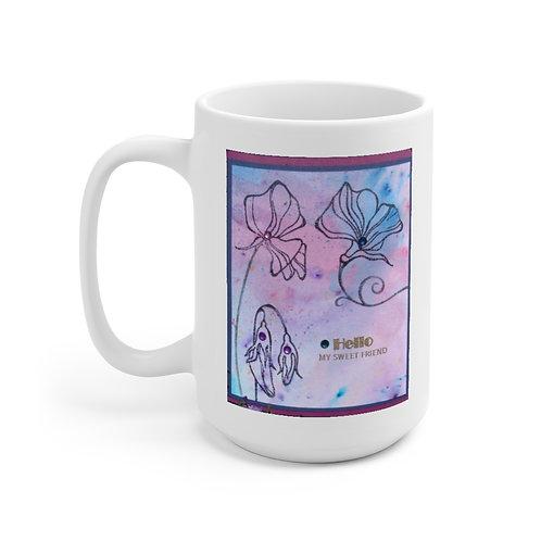 Ceramic Mug 15oz My Sweet Friend
