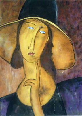 Modigliani Reproduced