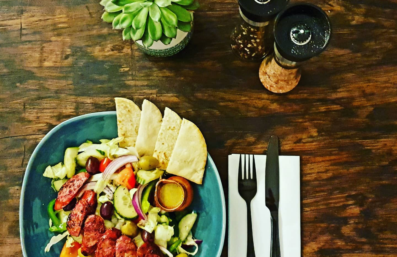 Greek Sausage Salad