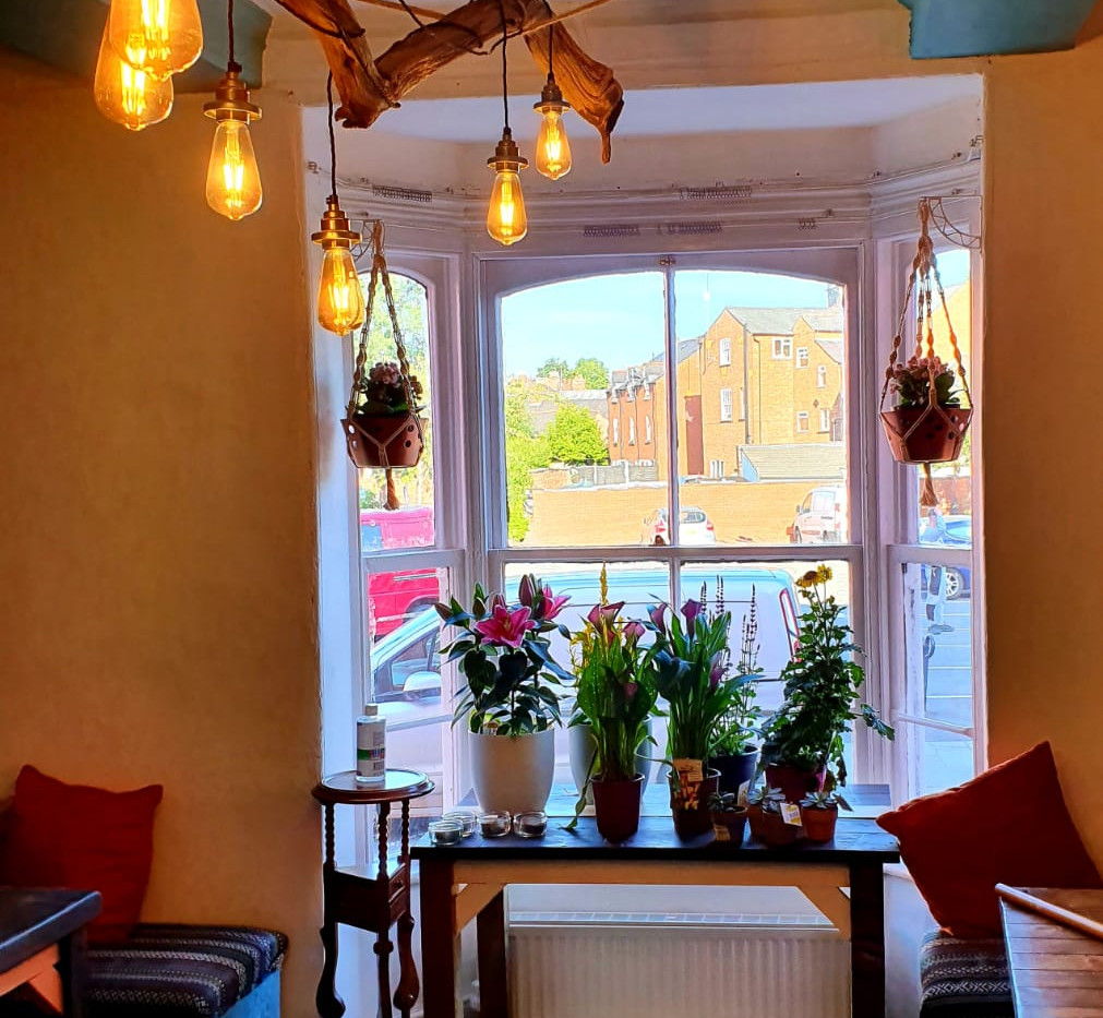 Bay Window Dining Room