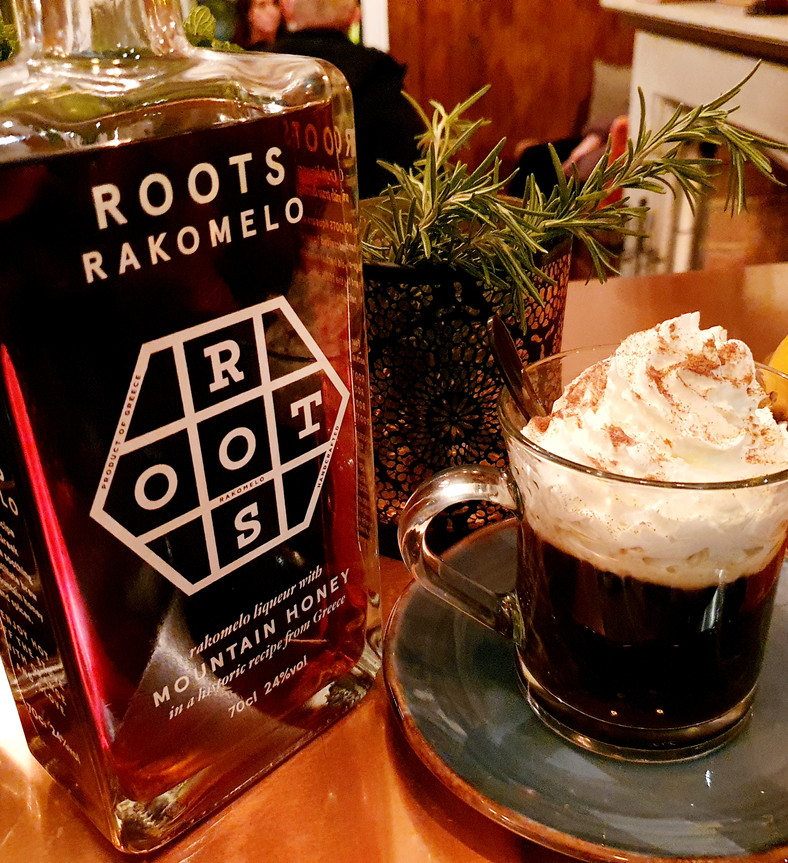 Greek Liqueur Coffee