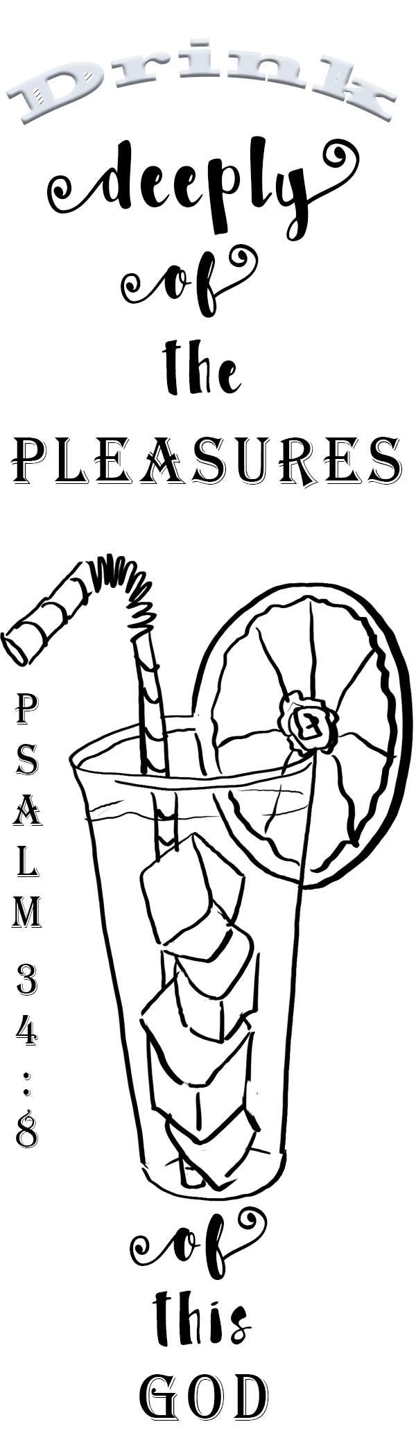 Psalm 34 sketch