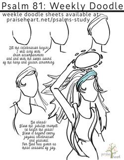 Psalm 81 Sketch
