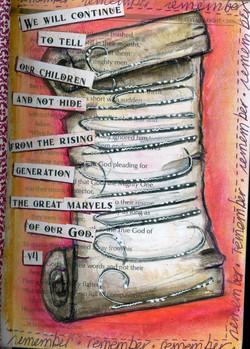 Psalm 78 Doodle