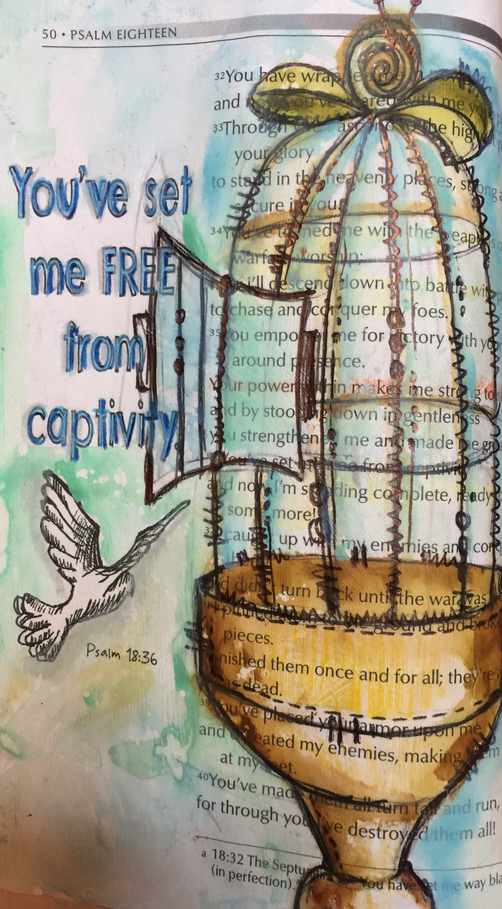 Psalm 18:32-50