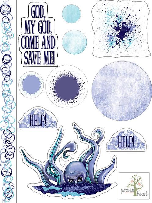 Psalm 69 Stickers